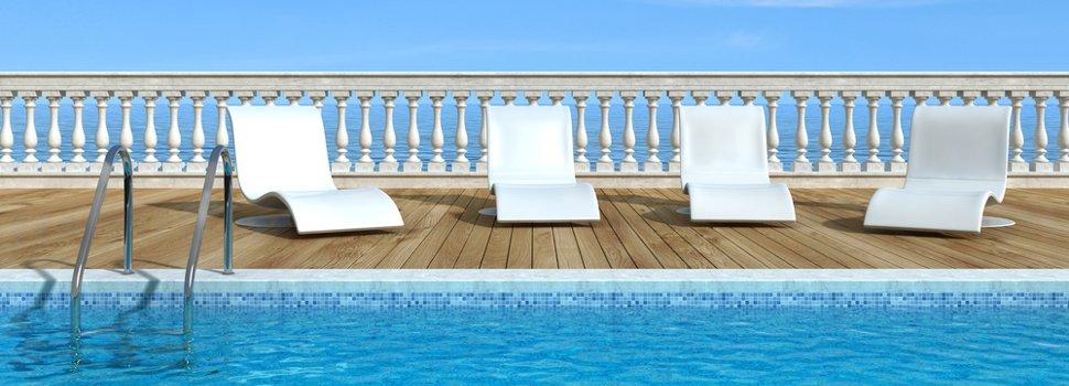 Costruzione e installazione piscine interrate e fuoriterra for Sedute per piscine