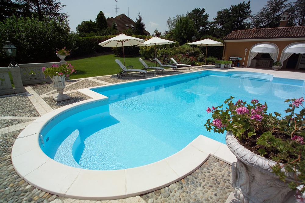 Consigli sulla piscina in pannelli d 39 acciaio ladivinapiscina - Immagini di piscine interrate ...