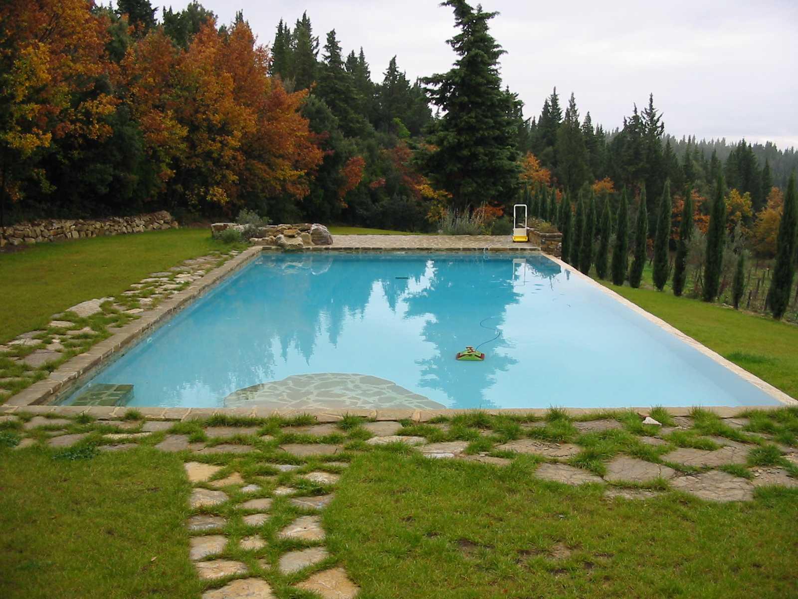 Piscina in cemento armato ladivinapiscina - Costruzione piscina in cemento armato ...