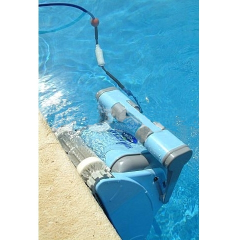 Robot per piscine pulitore maytronics dolphin dynamic plus for Robot piscine maytronics