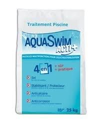 Pastiglie di sale aquaswim 4 in 1 sacco da kg 25 - Pastiglie piscina ...
