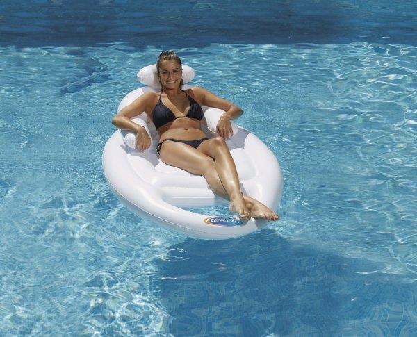 Sedia a sdraio lounger surf ladivinapiscina - Poggiapiedi piscina ...
