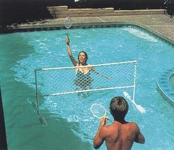 Rete pallavolo galleggiante combo volleyball game ladivinapiscina - Rete pallavolo piscina ...
