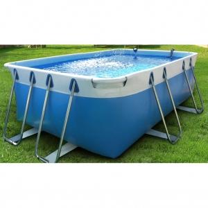Comfort 100 piscina fuori terra in pvc ladivinapiscina - Piscine fuori terra autoportanti ...