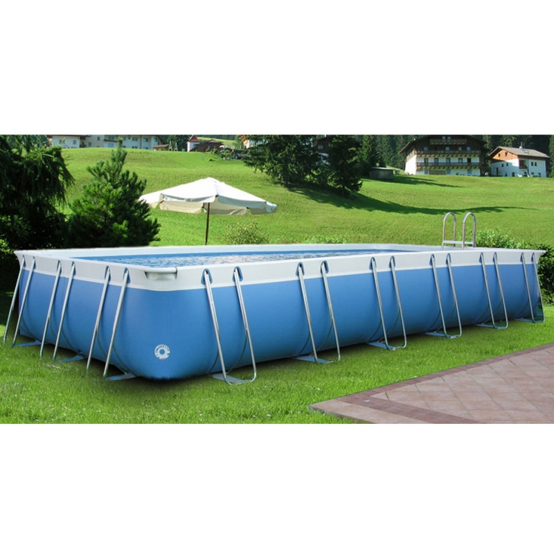 Luxury large 125 piscina fuori terra in pvc ladivinapiscina - Piscine in pvc ...