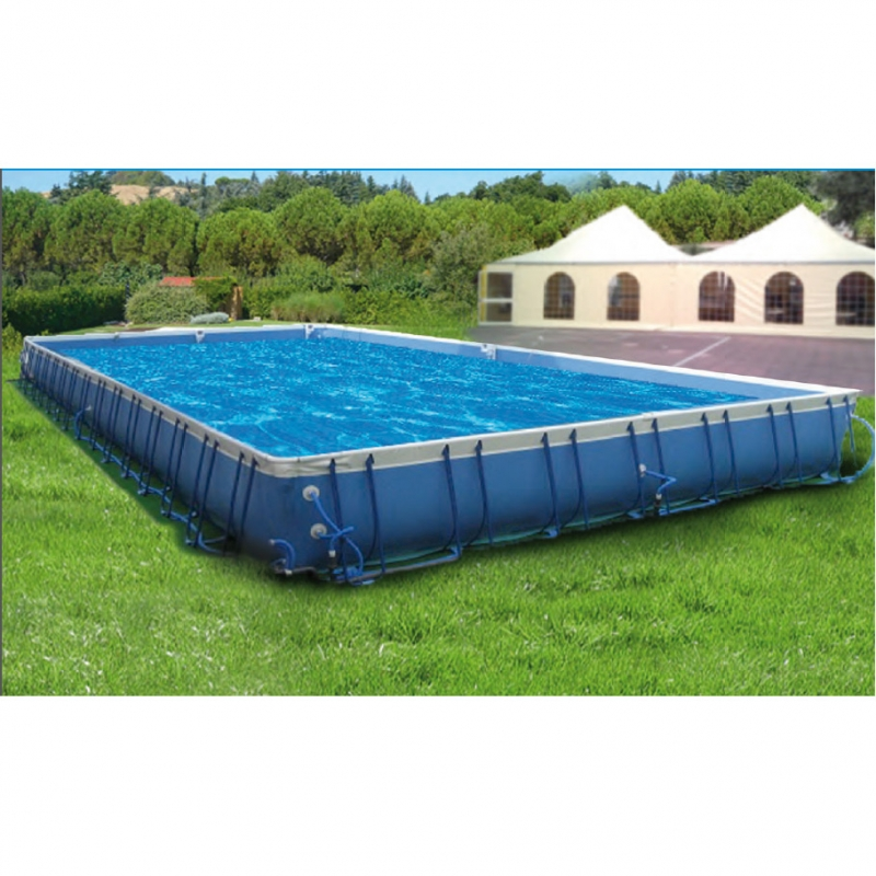 Events best 125 piscina fuori terra in pvc ladivinapiscina for Laghetto resina