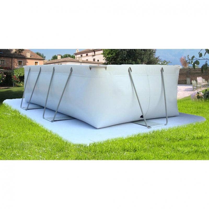 New fantasy pool 100 piscina fuori terra in pvc for Pavimentazione per piscine fuori terra