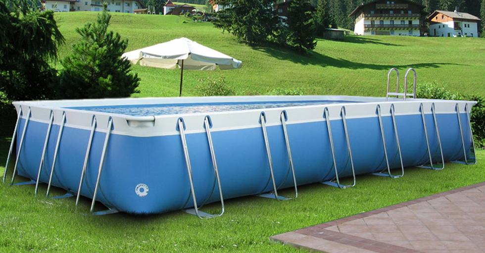 Luxury large 140 piscina fuori terra in pvc for Piscine 5 x 3