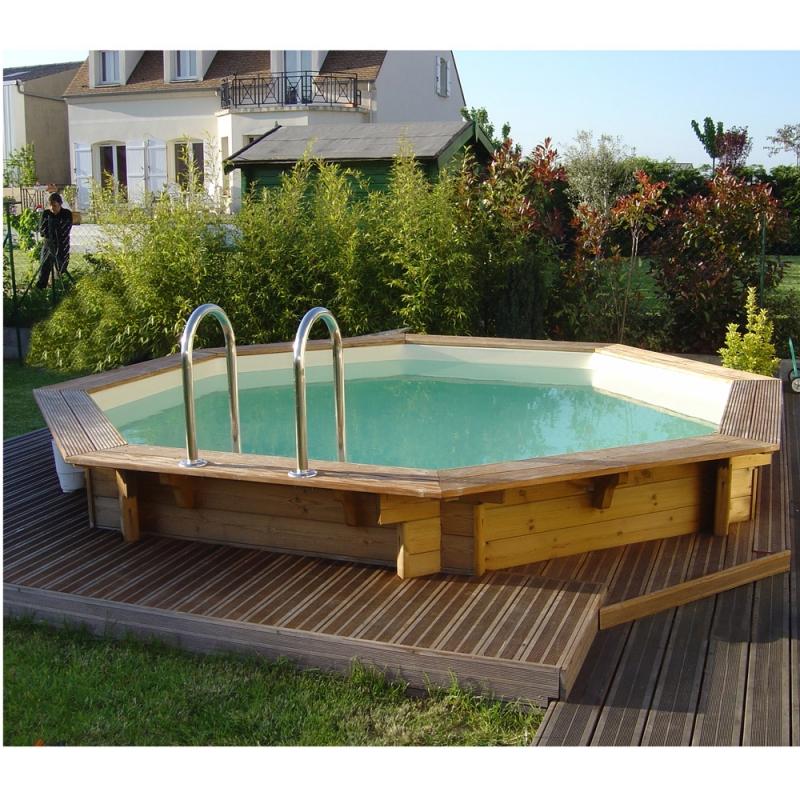 Ocea 39 pool ronde piscina fuori terra in legno - Piscine fuori terra in legno ...