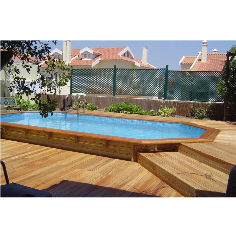 Piscine in legno piscine in legno with piscine in legno - Tappeto per piscina fuori terra ...