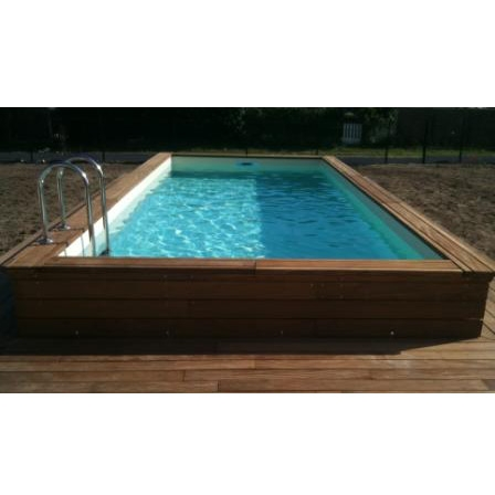Wood line classy piscina fuori terra in legno - Piscina fuori terra ...