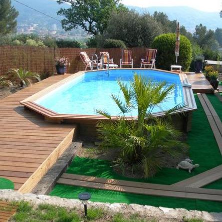 Wood line longhi piscina fuori terra in legno - Piscina fuori terra ...