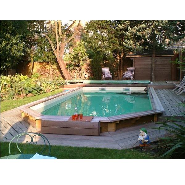 Wood line fidji piscina fuori terra in legno - Occasioni piscine fuori terra ...