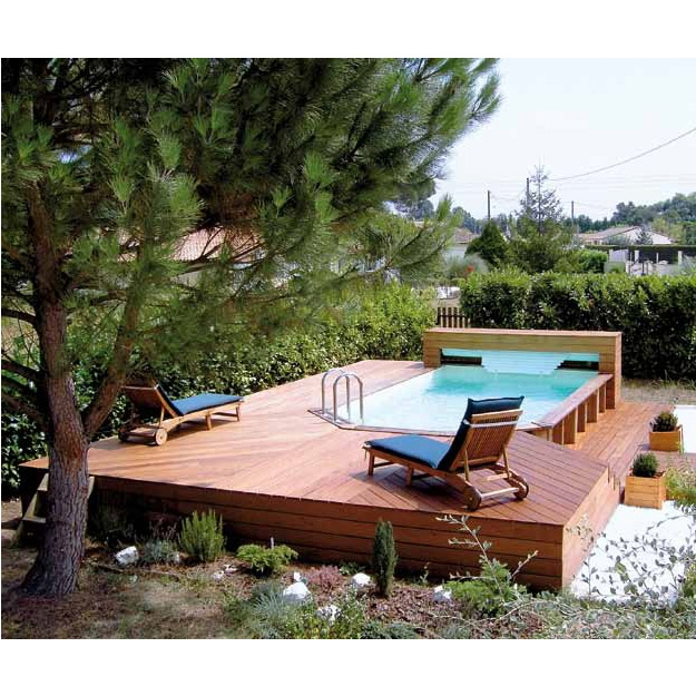 Wood line fidji piscina fuori terra in legno - Piscina fuori terra ...