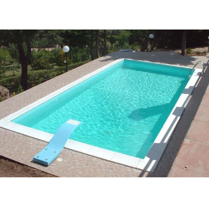 piscina a skimmer rettangolare piscina interrata in