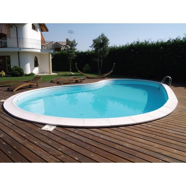 Piscina a skimmer forma libera piscina interrata in - Piscina interrata ...