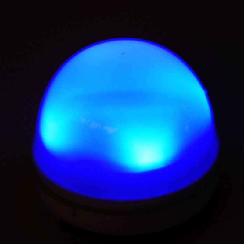 Lampadina chill lite led magnetiche a batteria for Lampadina led blu