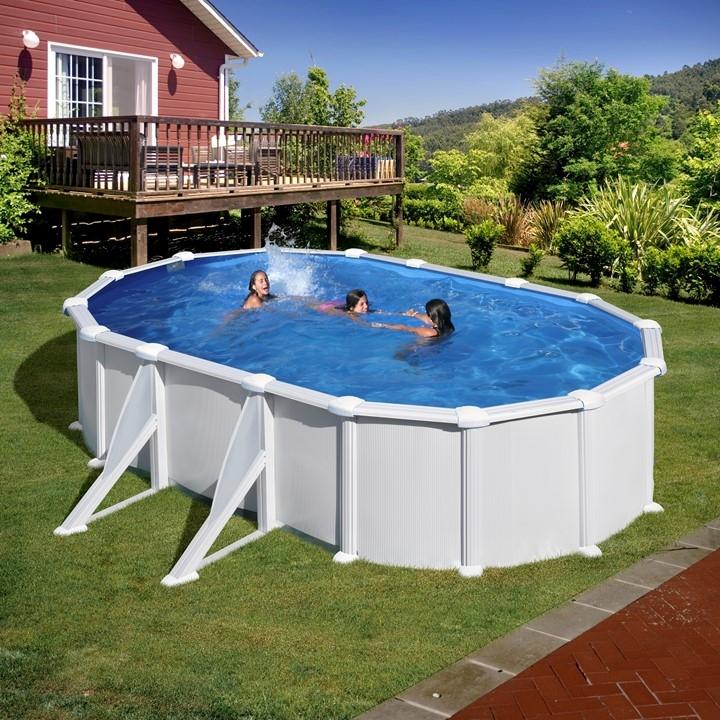 Dream pool fidji piscine fuori terra tonde e ovali in for Piscine fuori terra pvc
