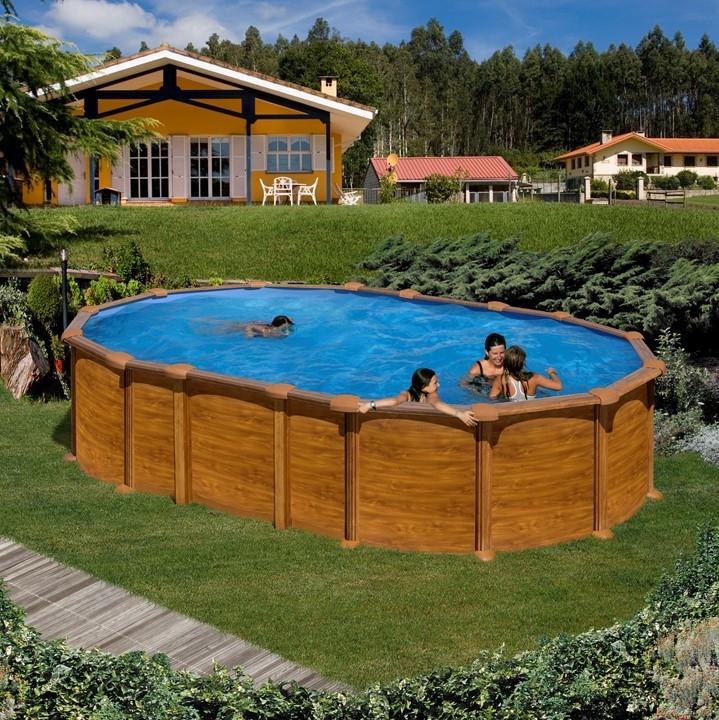 Dream pool amazonia piscina fuori terra ovale in acciaio - Piscine fuori terra amazon ...
