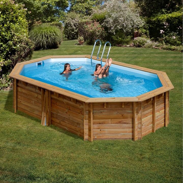 Wooden pool ottagonale piscina fuori terra in legno - Piscine fuori terra autoportanti ...