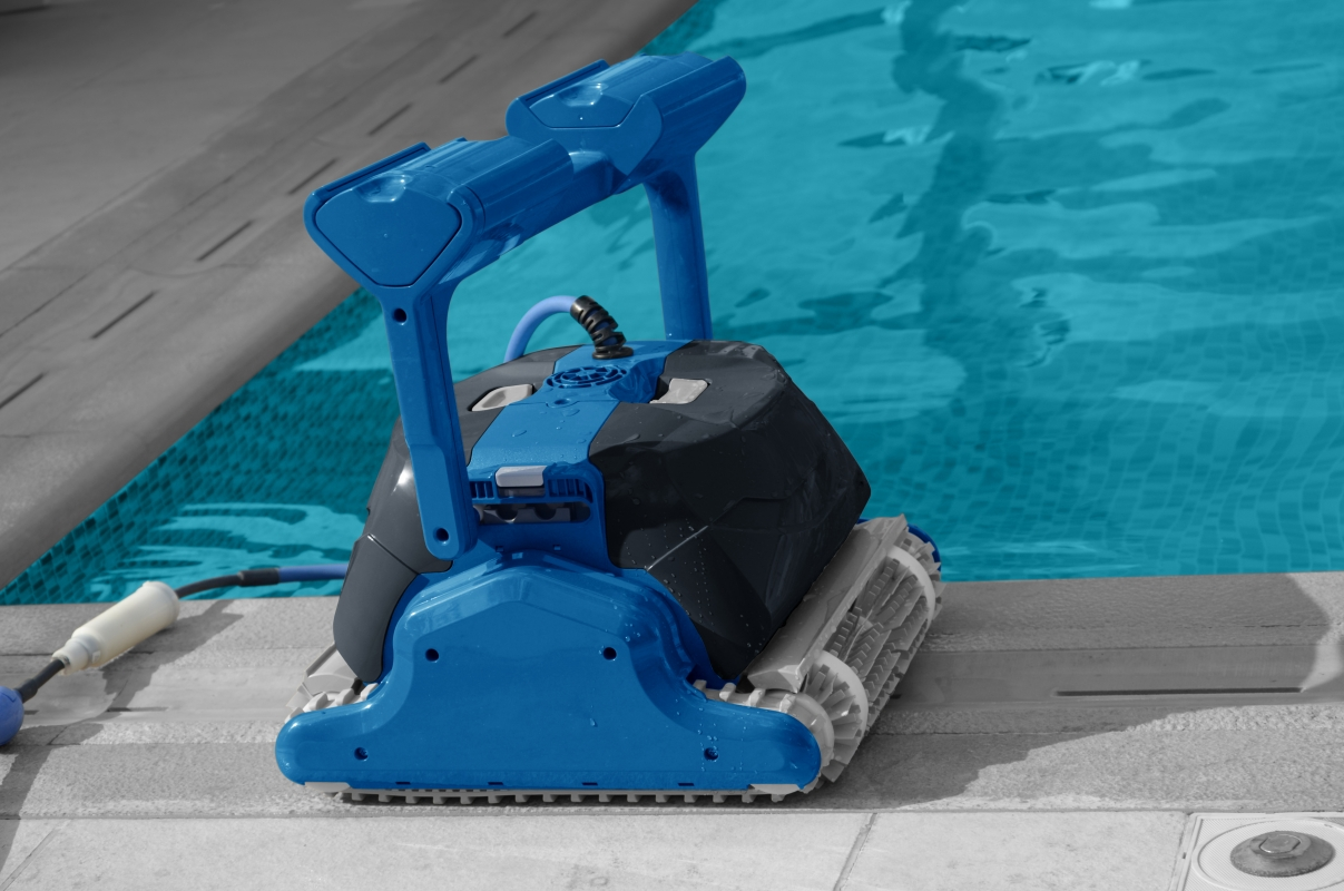 Robot per piscine pulitore maytronics dolphin f50 for Robot piscine maytronics
