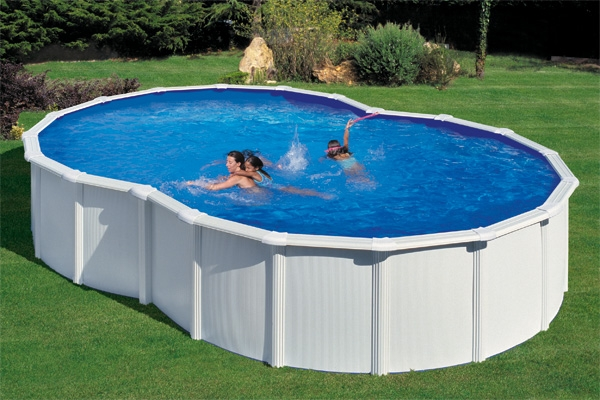 Piscine In Acciaio Fuori Terra.Dream Pool Varadero Piscina Fuori Terra Ottagonale In Acciaio E Pvc