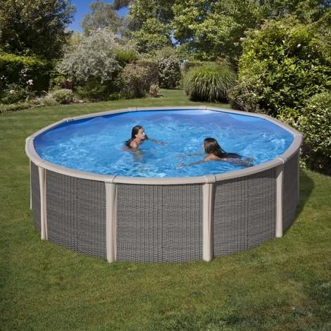 Fusion pool piscine fuori terra ovali e tonde in acciaio - Piscine in acciaio fuori terra ...